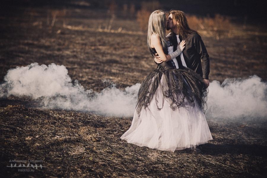 Свадьба в готическом стиле