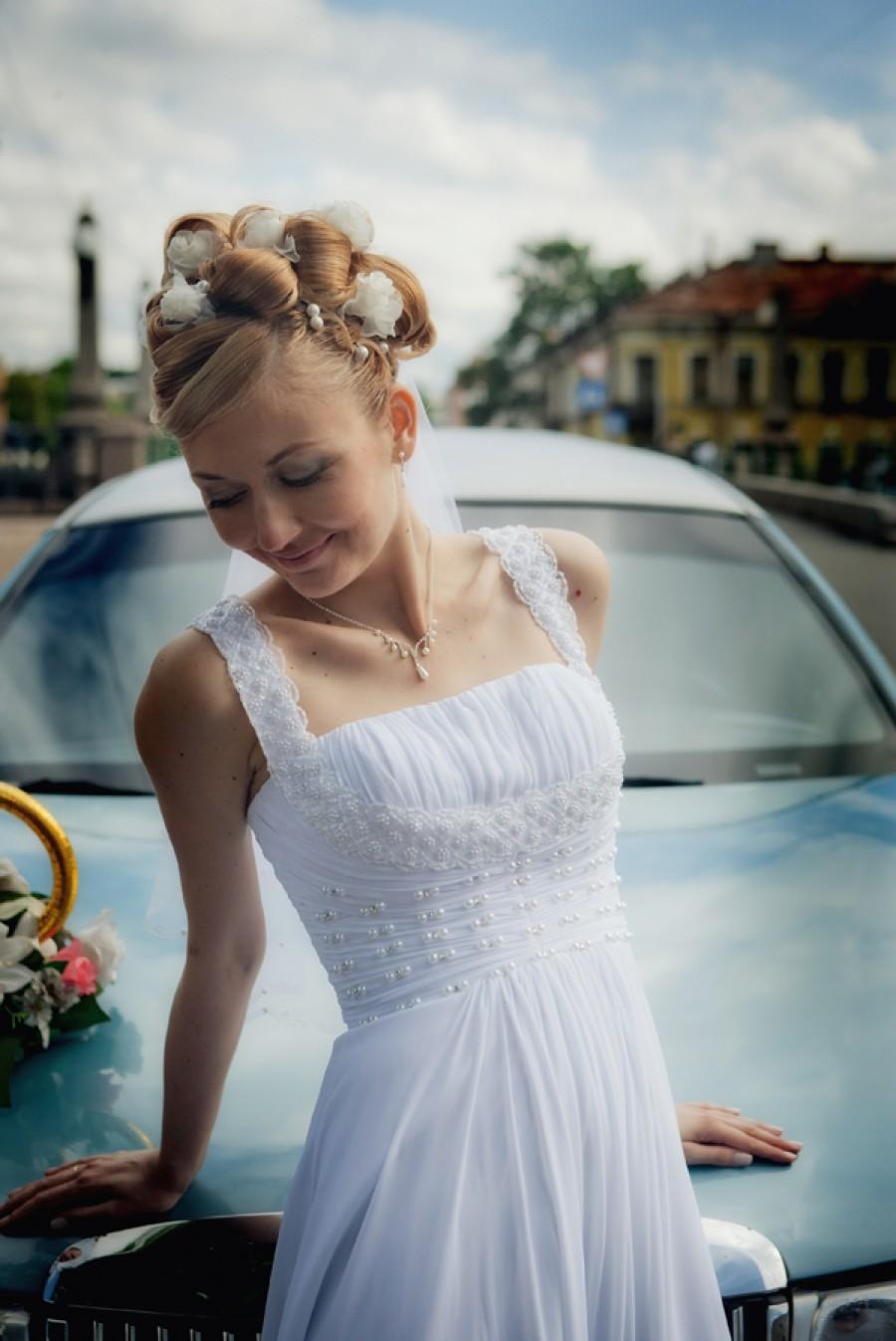 Свадебный визаж и прическа