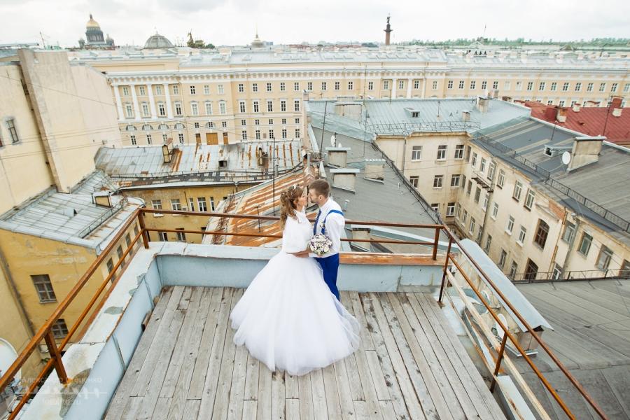 Зимние свадебные фото