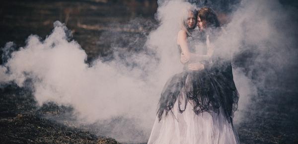 Свадьба в готическом стиле.