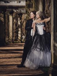 Свадьба в готическом стиле. Фотограф Александр Стеценко